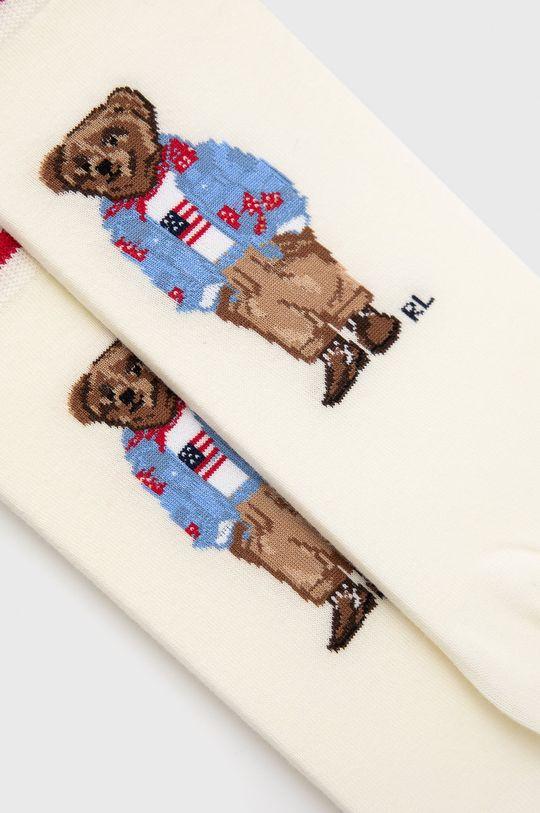 Polo Ralph Lauren - Skarpetki kremowy