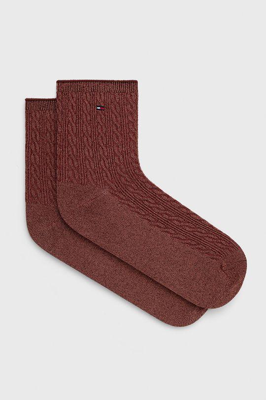 oranžová Tommy Hilfiger - Ponožky Dámský
