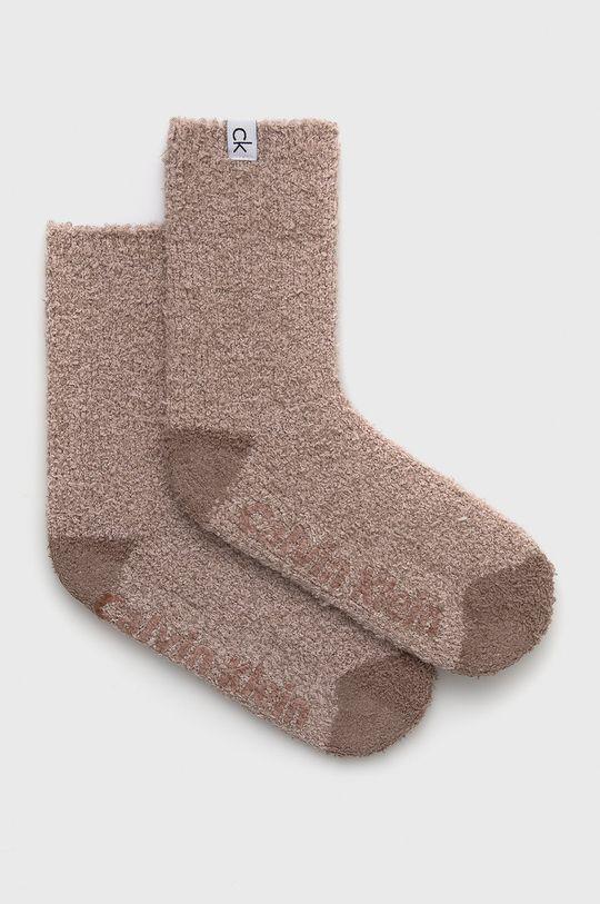 starorůžová Calvin Klein - Ponožky Dámský