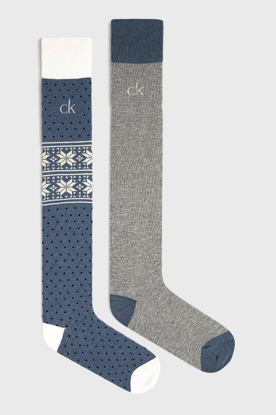 modrá Calvin Klein - Ponožky (2-pack) Dámský