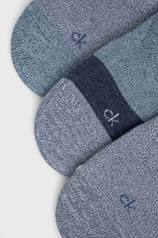 Calvin Klein - Ponožky (3-pack) modrá