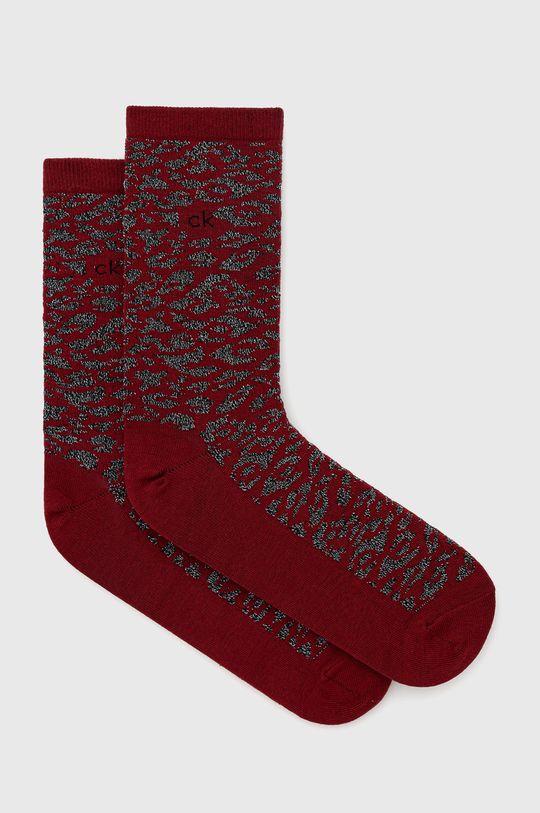 kaštanová Calvin Klein - Ponožky Dámský