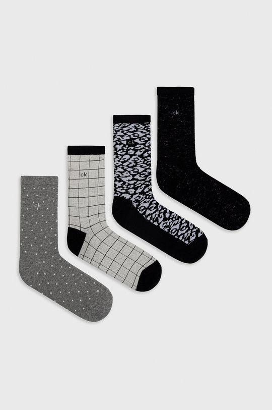 černá Calvin Klein - Ponožky (4-pack) Dámský