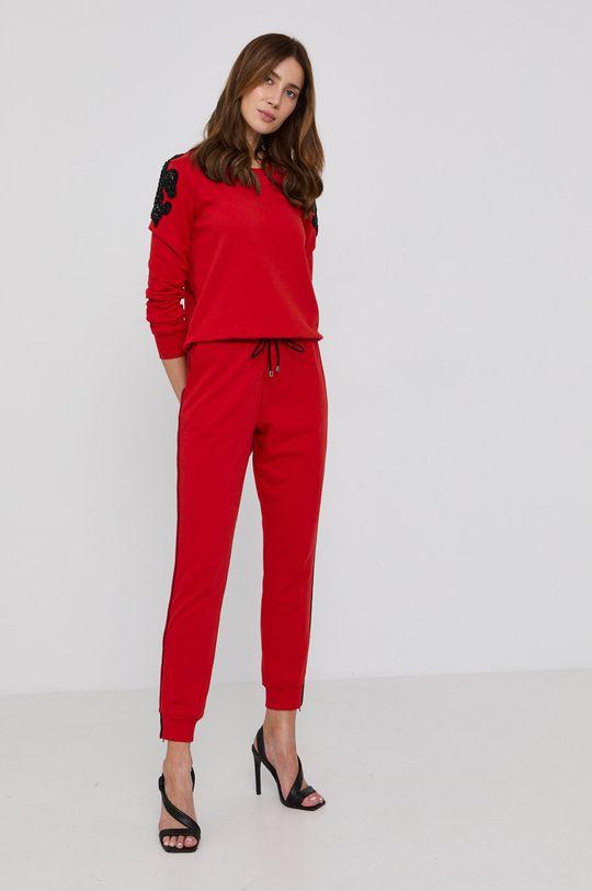 Patrizia Pepe - Kalhoty červená