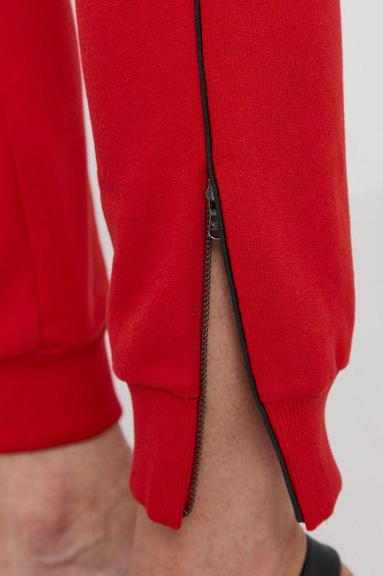 červená Patrizia Pepe - Kalhoty