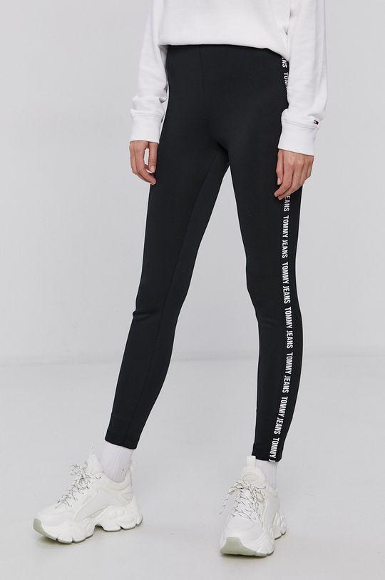 Tommy Jeans - Legíny černá