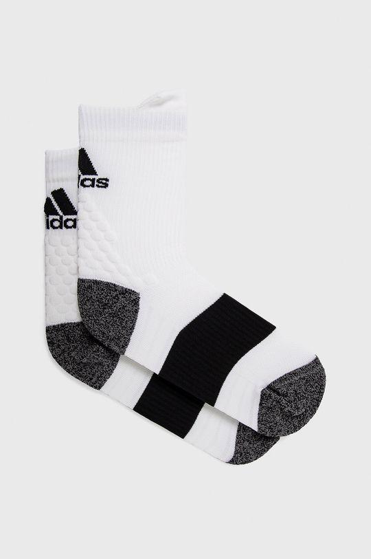 bílá adidas Performance - Ponožky Dámský