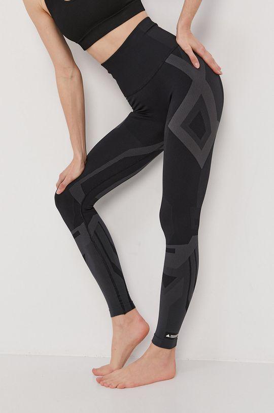 czarny adidas Performance - Legginsy Damski