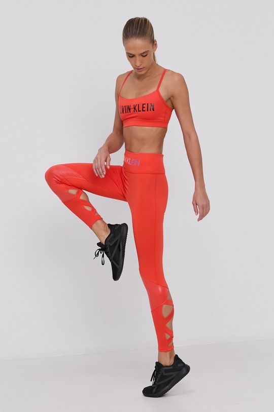 Calvin Klein Performance - Legíny oranžová