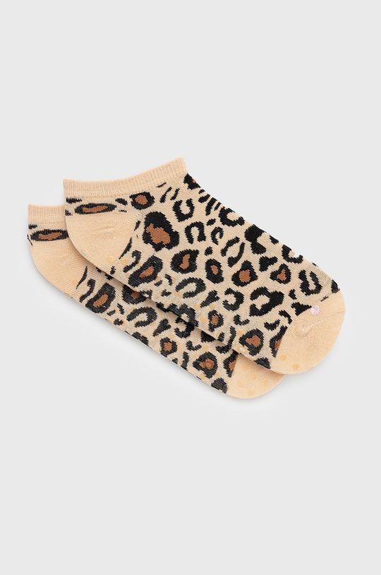 Aldo - Ponožky (2-pak) hnedá