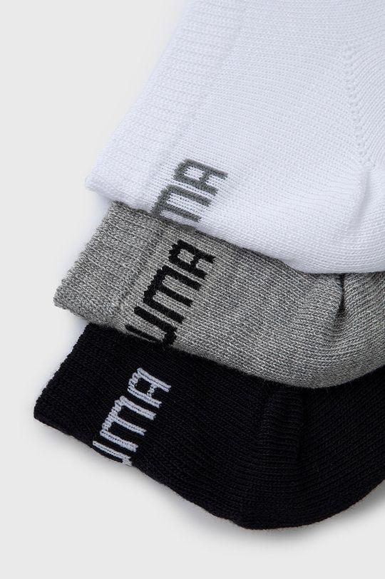 Puma - Ponožky (3-pack) bílá