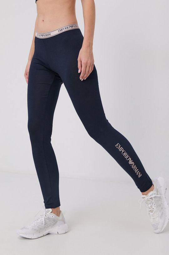 tmavomodrá Emporio Armani Underwear - Legíny Dámsky