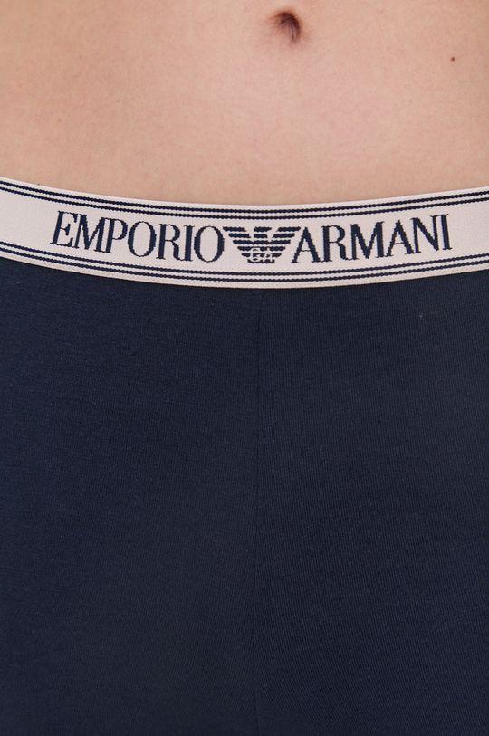 tmavomodrá Emporio Armani Underwear - Legíny