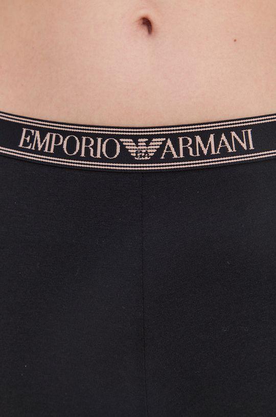 čierna Emporio Armani Underwear - Legíny