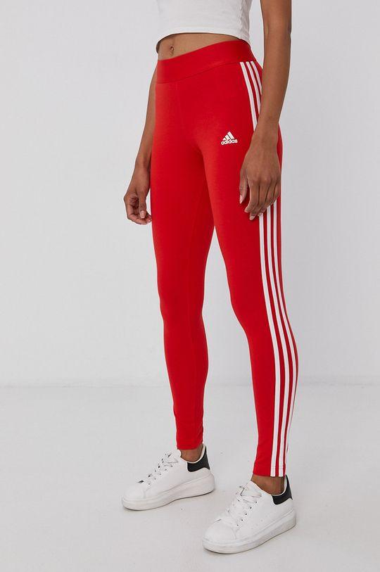 červená adidas - Legíny Dámsky
