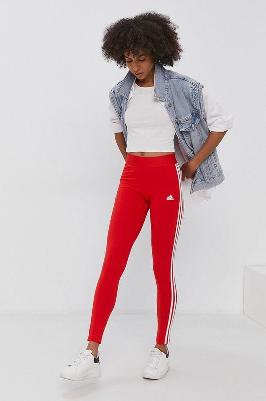 adidas - Legíny červená