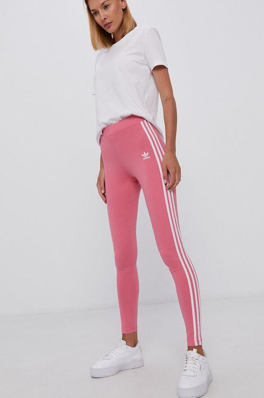 różowy adidas Originals - Legginsy Damski