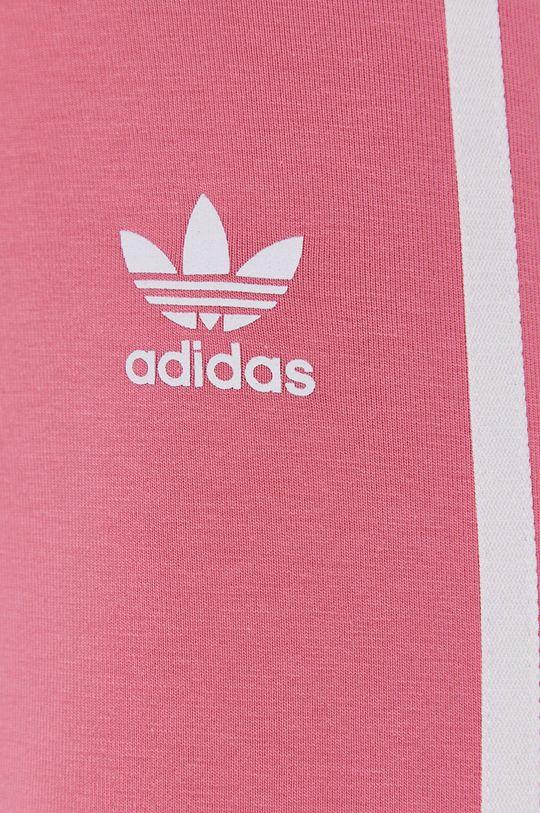 różowy adidas Originals - Legginsy
