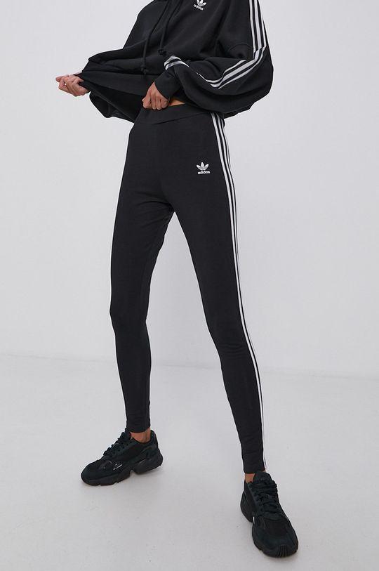 czarny adidas Originals - Legginsy Damski