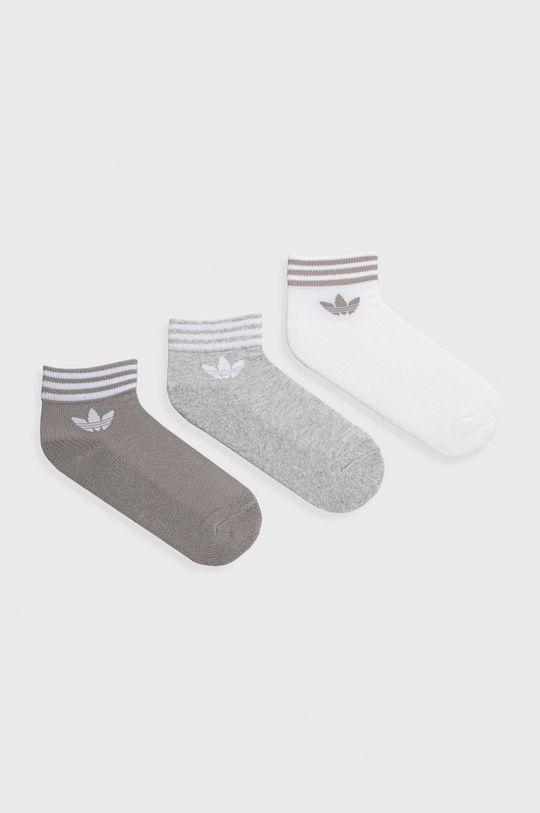 svetlosivá adidas Originals - Ponožky (3-pak) Dámsky