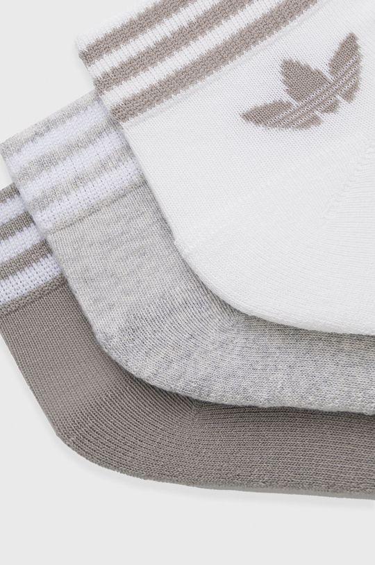 adidas Originals - Ponožky (3-pak) svetlosivá