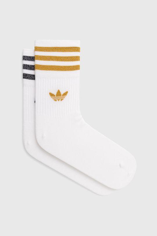 bílá adidas Originals - Ponožky (2-pack) Dámský