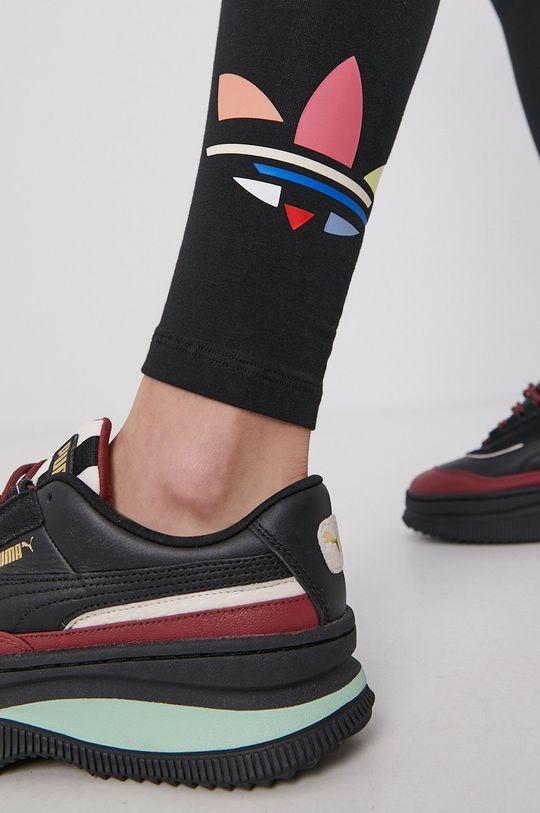 czarny adidas Originals - Legginsy