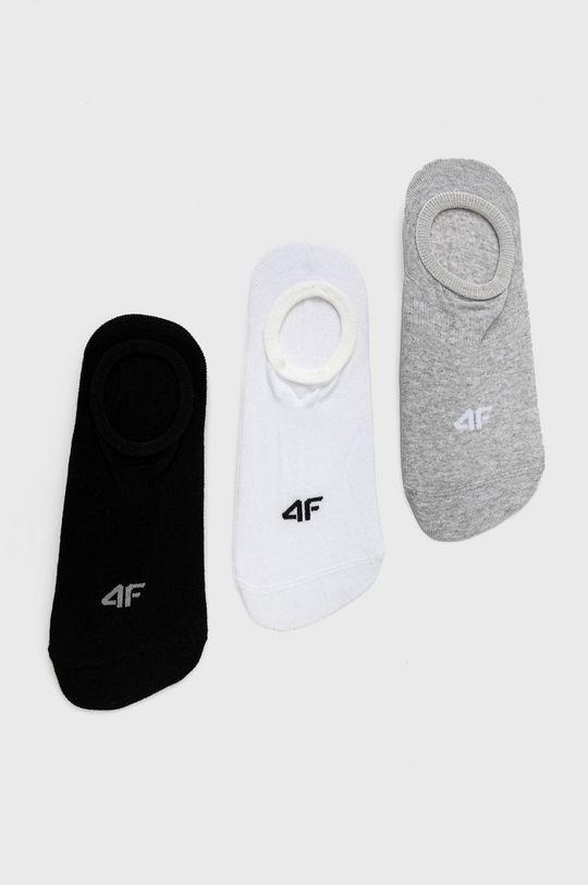 gri 4F - Sosete (3-pack) De femei