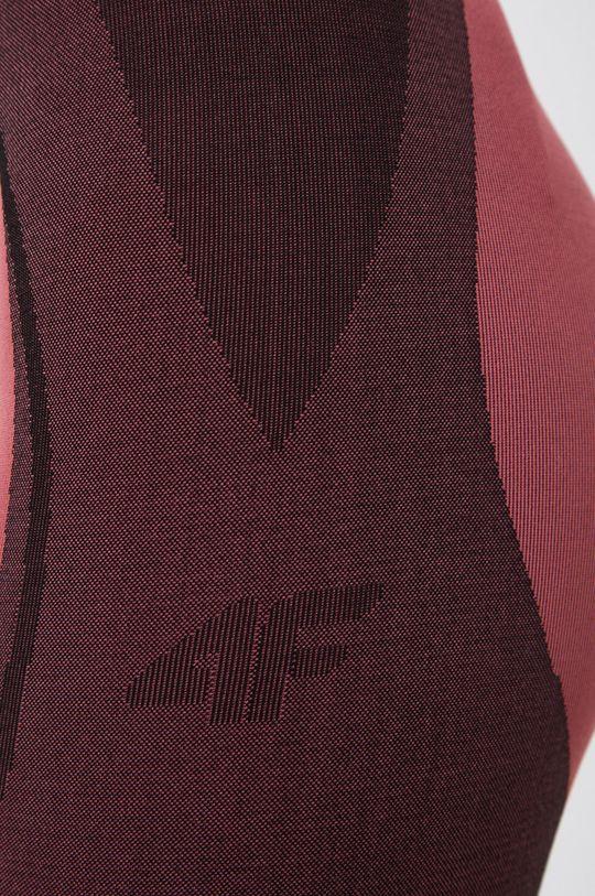 ostry różowy 4F - Legginsy