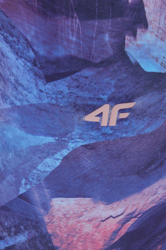 purpurowy 4F - Legginsy