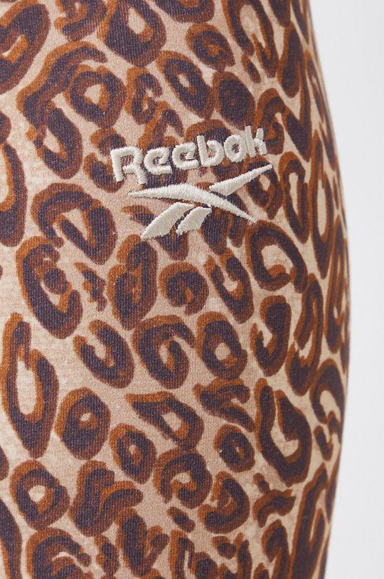 brązowy Reebok Classic - Legginsy