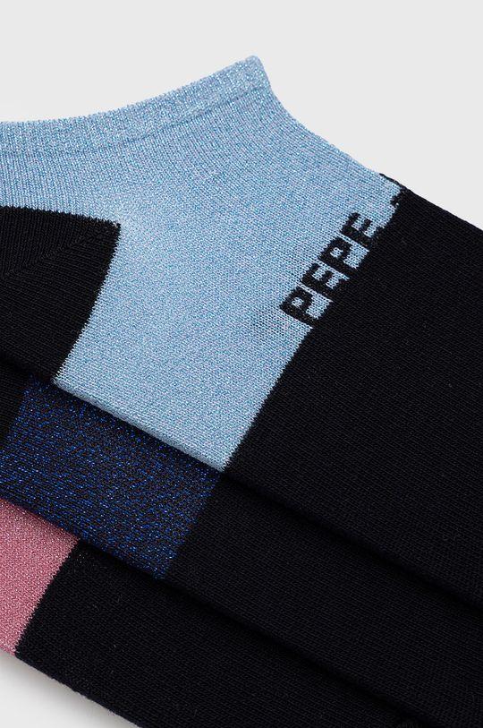 Pepe Jeans - Sosete Wencie (3-pack) bleumarin