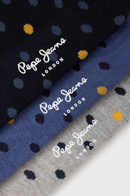 Pepe Jeans - Sosete Narla (3-pack) multicolor