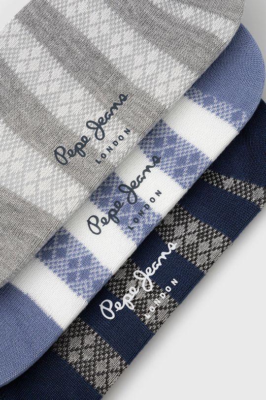 Pepe Jeans - Sosete Sammy (3-pack) multicolor