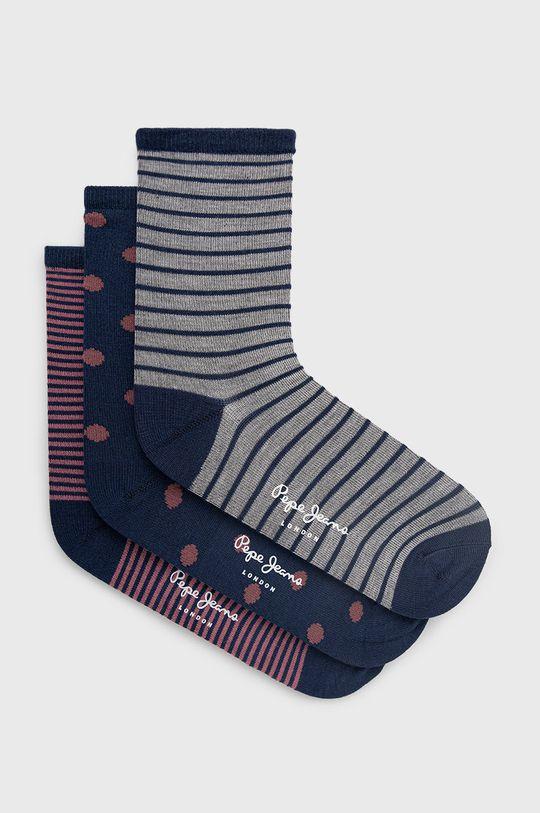 viacfarebná Pepe Jeans - Ponožky Ada (3-pak) Dámsky