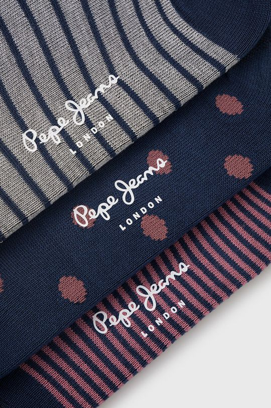 Pepe Jeans - Ponožky Ada (3-pak) viacfarebná