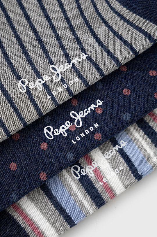 Pepe Jeans - Sosete Dolla (3-pack) bleumarin