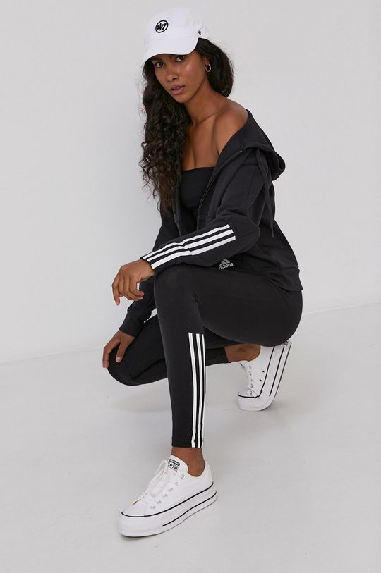 adidas - Legginsy czarny