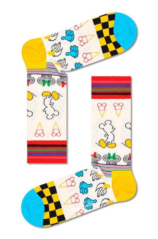 viacfarebná Happy Socks - Ponožky Sunny Sketch Dámsky
