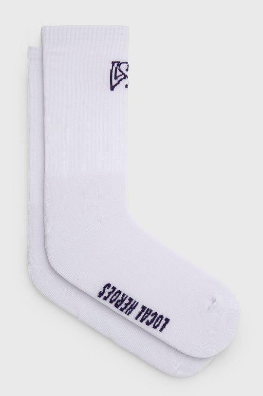 bílá Local Heroes - Ponožky Dámský