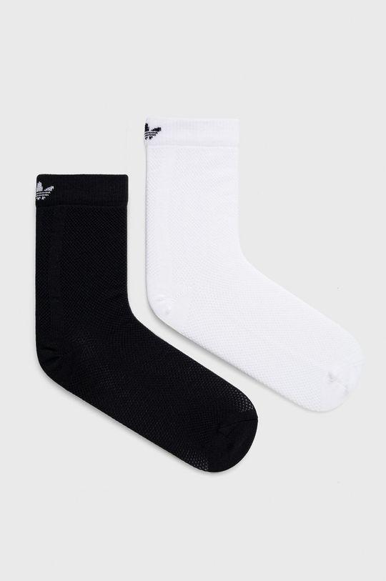 biały adidas Originals - Skarpetki (2-pack) Damski