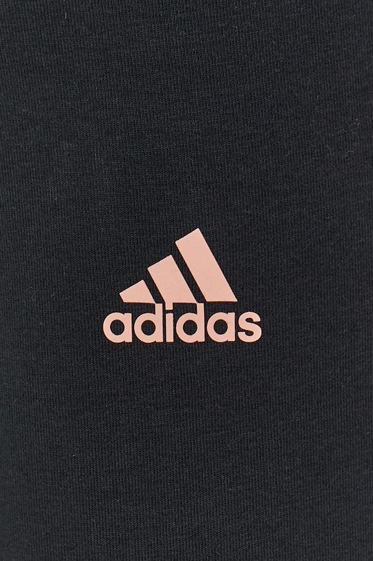 czarny adidas - Legginsy