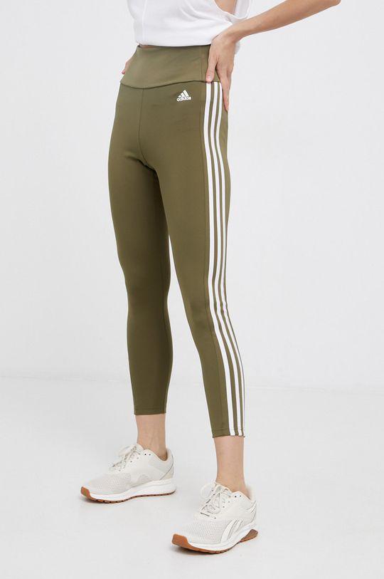 militarny Adidas - Legginsy Damski
