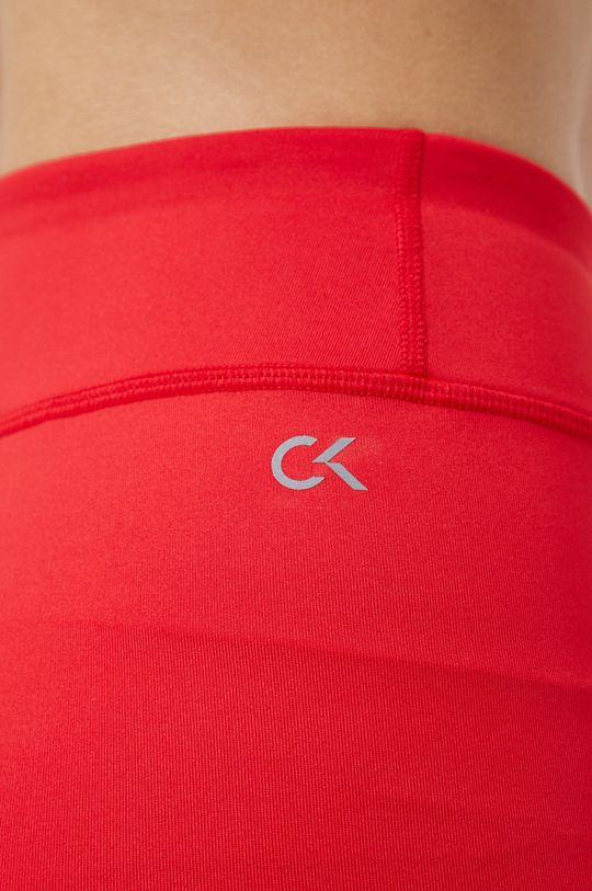 czerwony Calvin Klein Performance - Legginsy