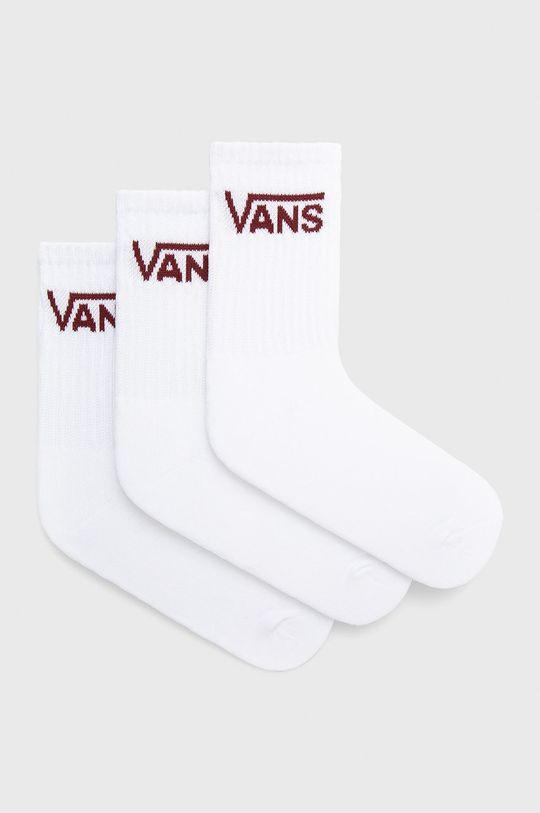 biały Vans - Skarpetki (3-pack) Damski