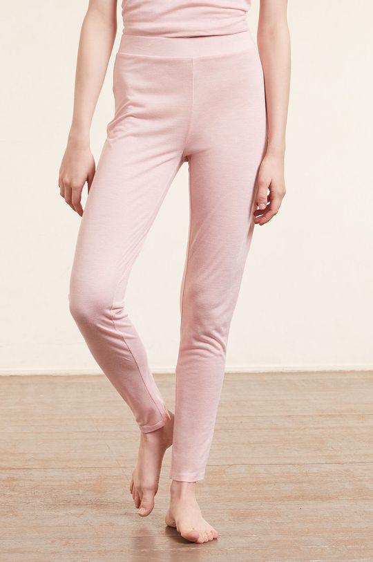 pastelowy różowy Etam - Legginsy Warm Day Damski