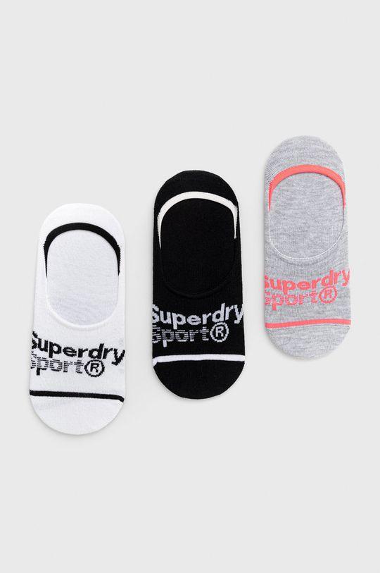 vícebarevná Superdry - Ponožky (3-pack) Dámský
