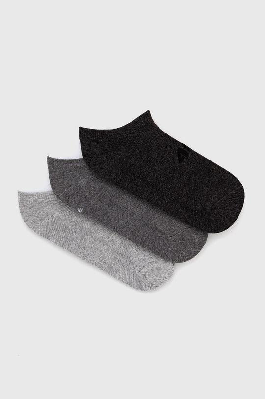 γκρί 4F - Κάλτσες (3-pack) Γυναικεία