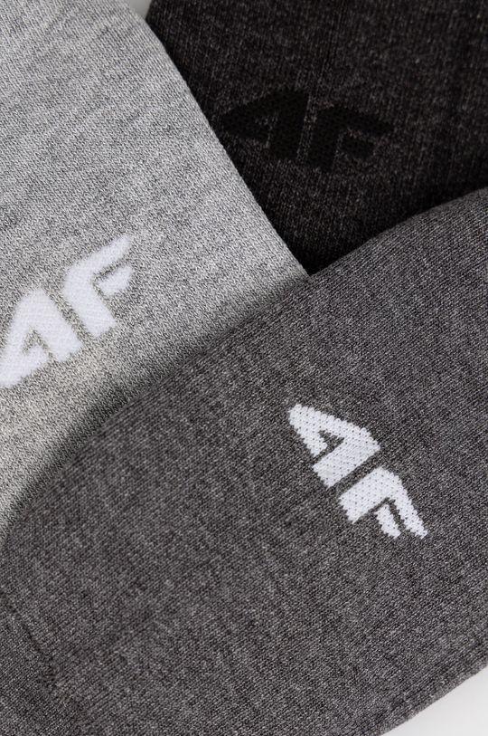 4F - Κάλτσες (3-pack) γκρί