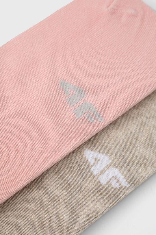 4F - Κάλτσες (2-pack) ροζ